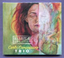 Carla Campopiano Trio Chicago Buenos Aires Connections Digipak Music CD 2018 New