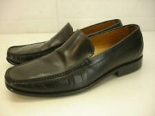 Men's 11 M Cole Haan Pinch Black Leather Dress Shoes Loafer Slip-On Moccasin Toe