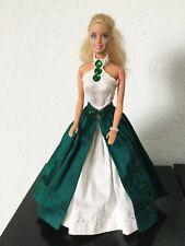 Barbie Puppe Vintage Sammler #146 handgenähte Seidenkleider eigenes Design