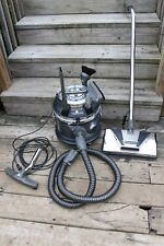 Filter Queen Majestic 95X Canister Vacuum Cleaner with Attachments Black Working