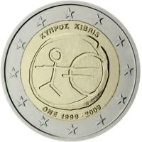 Cipro 2009 Emu Dixième Anniversaire Union Economique Et Monétaire