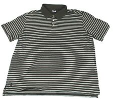 Ping Polo Golf Shirt Sport Mens Casual Fit Striped  Short Sleeve XL Polyester
