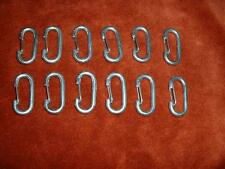 12 SNAP HOOKS For ANTENNA MAST GUY RINGS,ANTENNA ROPE
