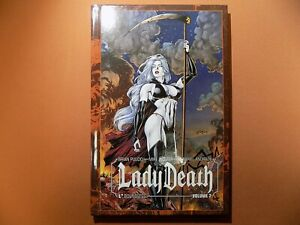 Lady Death Boundless: Volume 2 Hardcover SIGNED, LIMITED to 1,000