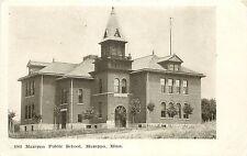 Vintage Postcard Mazeppa Public School Minnesota MN Wabasha County