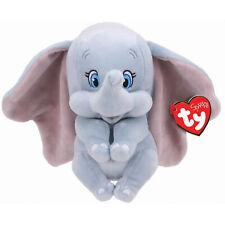 Ty Beanie Baby Dumbo, Kuscheltier, hellgrau
