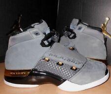 NIKE sz 7 Air Jordan 17 XVII Retro TROPHY Room Shoes NEW AH7963-023 Grey /  RARE
