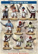 28mm 18th Century Sailor Crew, On The Seven Seas Skirmish Game