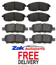 FOR NISSAN JUKE 1.5 DCi 1.6 2010-2014 FRONT & REAR BRAKE PADS SET * BRAND NEW *