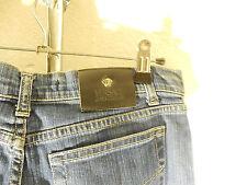 VERSACE JEANS COUTURE Damen Jeans Gr 27 Denim dunkles blau