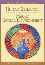 Human Behavior, Communities, Organizations, and Groups in the Macro Social...