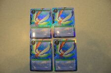 4 X TEXTURED FOIL BIRD OF PARADISE, DANCING IN THE SKY CFC FOW FORCE OF WILL