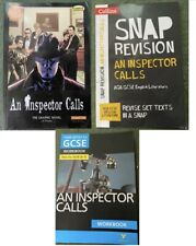 An Inspector Calls Graphic Novel + Snap Guide + York Notes. All V Good Condition