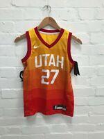 Utah Jazz Nike NBA Kids 4th Basketball Jersey - 8 Years - Gobert 27 - New
