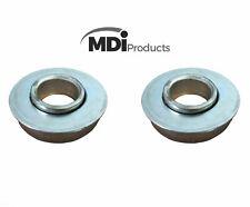 MDI 2x Replacement Wheel Bearings 16mm Bore, Trolley, Sack Truck, wheelbarrows