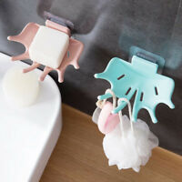 Unique Bathroom ShowerSoap Box Dish Storage Bathroom Tray Holder Case Soap TW