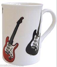 TAZZA da caffè Tazza Chitarre Design Motif REGALO REGALO di NATALE Musica insegnanti Tutor