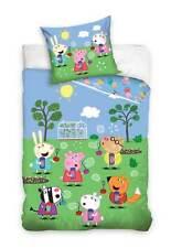 Peppa Pig Wutz Wende-Bettwäsche-Set Kinderbettwäsche Bettbezug 135x200 Bettwaren
