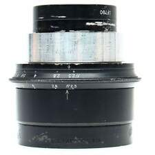 Bausch & Lomb 100mm f2.3 Baltar Lens in Barrel.