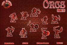 1 Grappe Neuve de 10 figurines # ALLIANCE 72002 ORCS SET 2 # 1/72.