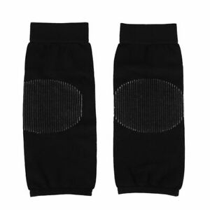Cycling Invisible Silk Stockings Knee Protector Pad Knee Sleeves Leg Warmers