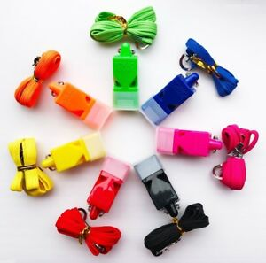 Fox 40 Classic Whistle CMG Referee Outdoor Indoor Football Sport Safe 7 COLOURS!