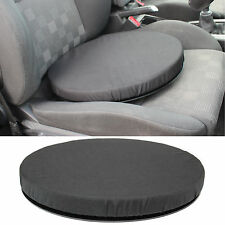 BLACK MEMORY FOAM ROTATING SEAT/CHAIR SWIVEL CUSHION CHAIR MOBILITY AID CAR/HOME