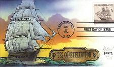 "BEVIL HP  USS CONSTELLATION  ""THE YANKEE RACEHORSE""  Sc 3869"