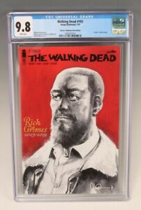 Walking Dead #192 CGC 9.8 Special Commemorative Edition (Image/Skybound, 2019)