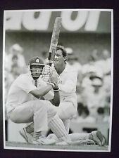 Cricket Press Photo- Peter Sleep in 1988 Bicentennial Test Match, 29/1-2/2/88