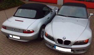 BMW Z3 Cabrio Verdeckbezug Stoff Verdeck TOP Qualität schwarz neu