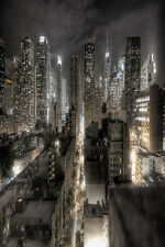 City high-rise 8' x 12' CP Backdrop Computer printed Scenic Background ZJZ-532