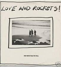 "LOVE AND ROCKETS ""NO NEW TALE TO TEL"" MAXI 1988 BAUHAUS"