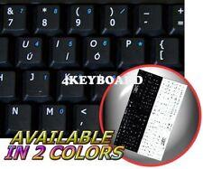 ENGLISH UK NON-TRANSP KEYBOARD STICKER  BLACK ADD KEY