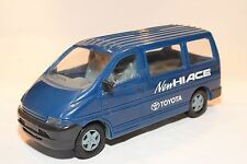 TOYOTA HIACE VAN PROMOTIONAL DEALER PLASTIC MODEL BLUE EXCELLENT RARE SELTEN