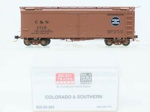 HOn3 Scale Micro-Trains MTL 85000051 C&S Colorado & Southern 30' Reefer #1115