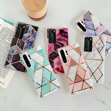 Case For Samsung S20 S10 S9 A51 A71 A20S ShockProof Marble Phone Cover Silicone