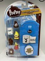 Poopeez Multi Pack with 6 Collection Figures 16x25cm Collectible Toy Random