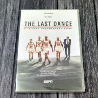 Chicago Bulls The Last Dance 1990s DVD Complete Box Set Brand New Ships 1st Clas