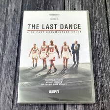 Chicago Bulls The Last Dance 1990s DVD Complete Box Set Brand New Ships 1st Clas