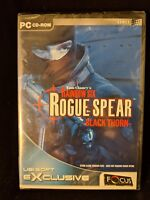 Tom Clancy's Rainbow Six Rogue Spear - Black Thorn - PC CD-ROM Game NEW