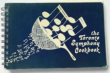 The Toronto Symphony Woman's Committee Vintage Recipe Cookbook