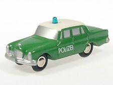 """Schuco Piccolo Mercedes 220 SE """"Polizei"""" # 50124200"""
