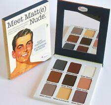 Il balsamo soddisfare Matt (e) NUDO Eyeshadow Palette Full Size 25.5g Autentico