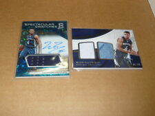 WADE BALDWIN LOT OF 2 GRIZZLIES SPECTRA AUTOGRAPH/AUTO JERSEY IMMACULATE