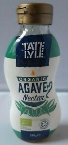 Tate & Lyle ORGANIC Agave Nectar 310 Sugar Substitute BRAND NEW SHIPS WORLDWIDE