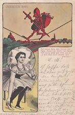 Dresden Künstler 1903 Hochseil Artist Roland der Steife Gedicht Sachsen 1701192
