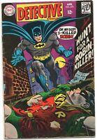 Detective Comics 374 DC 1968 GD VG Batman Robin Death Elongated Man