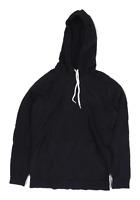 Asos Mens Size 2XS Cotton Black Hoodie
