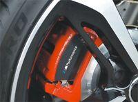 6x BMW M Performance Aufkleber für Bremssätte Emblem Logo